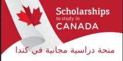 منحة دراسية مجانية في كندا
